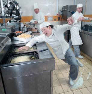 Preventing Burns In Commercial Kitchens
