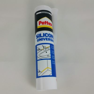 Pattex siliconen kit transparant
